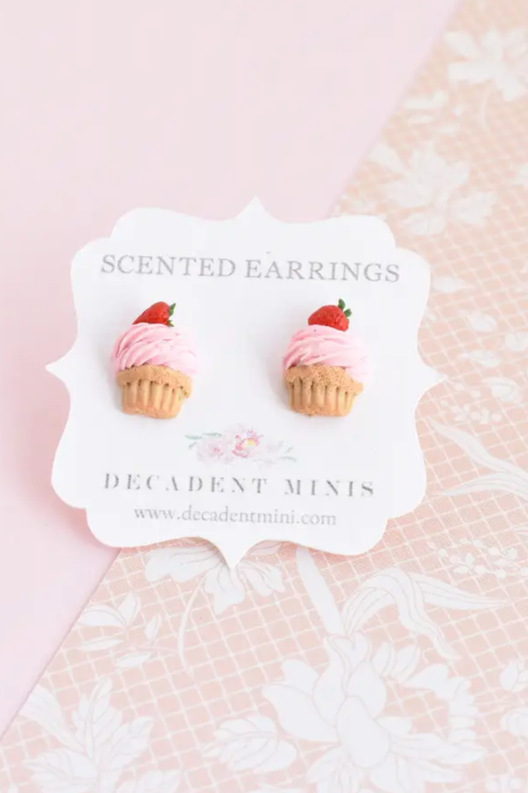 Decadent Minis Scented Hypoallergenic Stud Earrings - Front Cropped Image