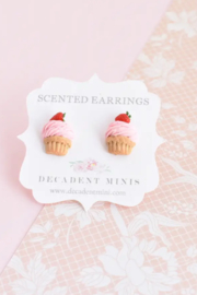 Decadent Minis Scented Hypoallergenic Stud Earrings - Front cropped