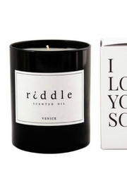 Riddle Oil Scented Oil Candle - Product Mini Image