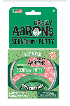 Crazy Aaron's Putty World Scentsory Mintertime 2.75 Thinking Putty - Alternate List Image