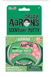 Crazy Aaron's Putty World Scentsory Mintertime 2.75 Thinking Putty - Product Mini Image