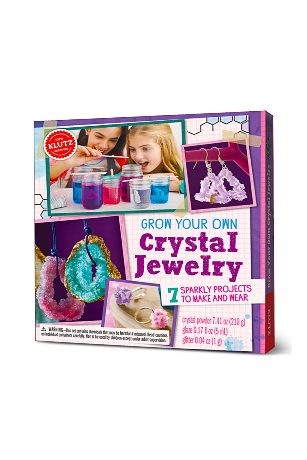Scholastic Grow Crystal Jewelry - Side Cropped Image