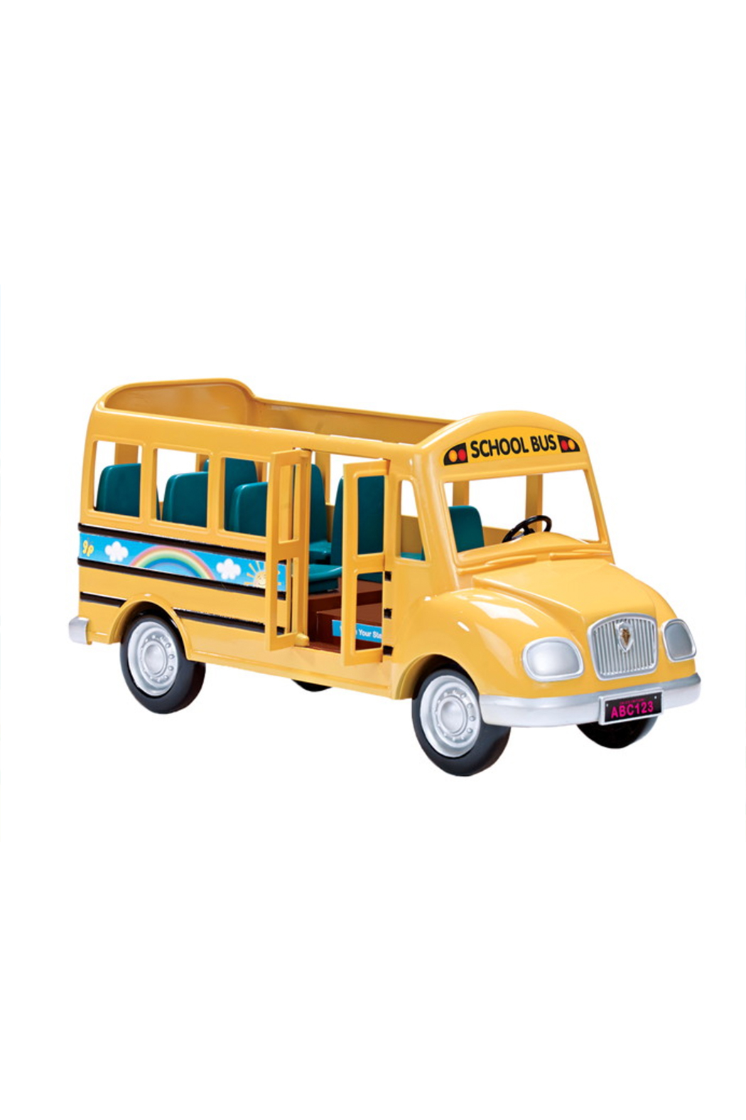 Calico Critters School Bus - Back Cropped Image