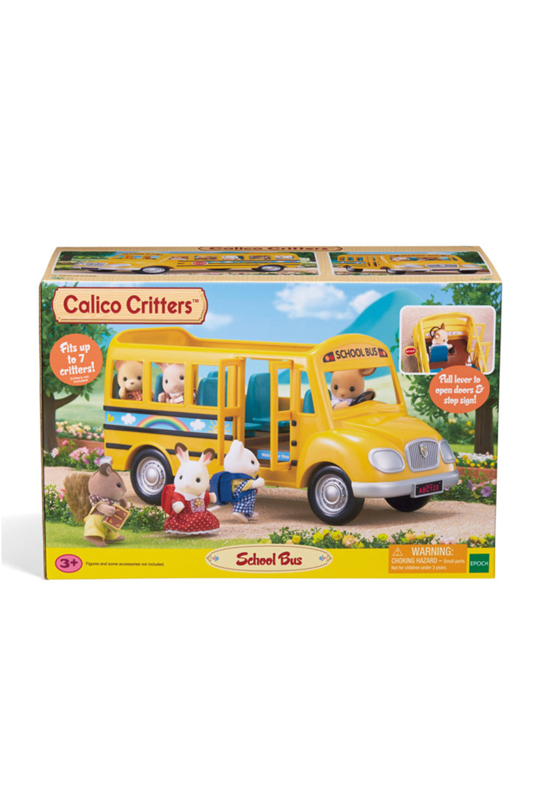 Calico Critters School Bus - Front Cropped Image