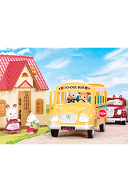 Calico Critters School Bus - Front full body