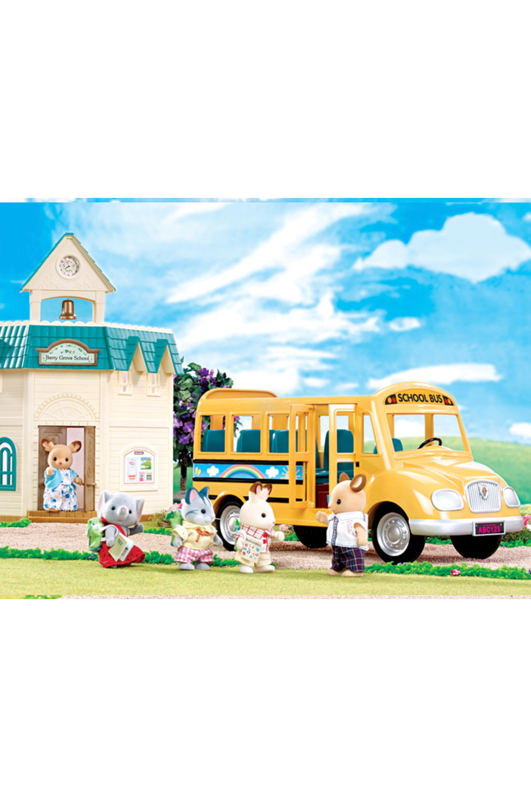 Calico Critters School Bus - Side Cropped Image