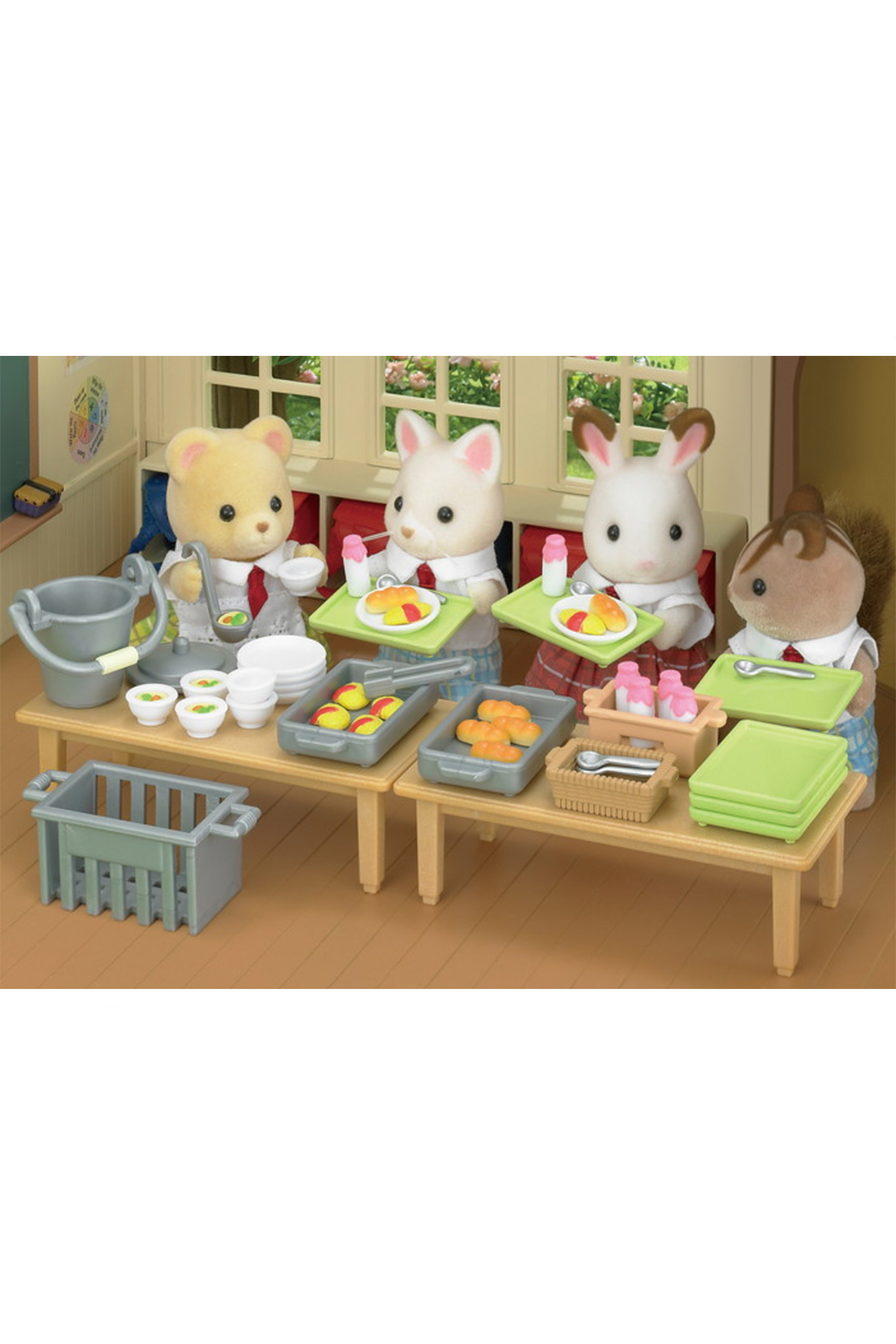 Calico Critters School Lunch Set - Side Cropped Image