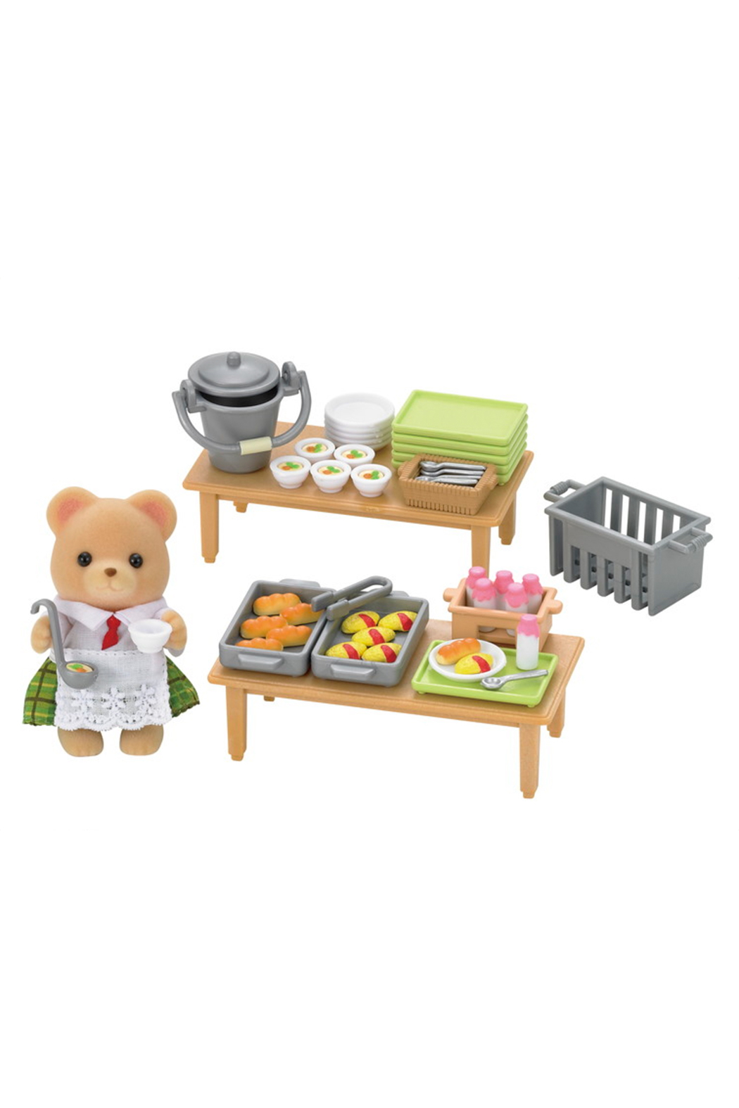 Calico Critters School Lunch Set - Main Image