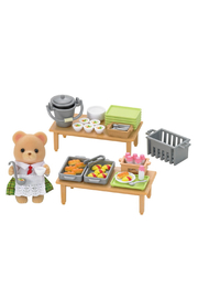 Calico Critters School Lunch Set - Front cropped