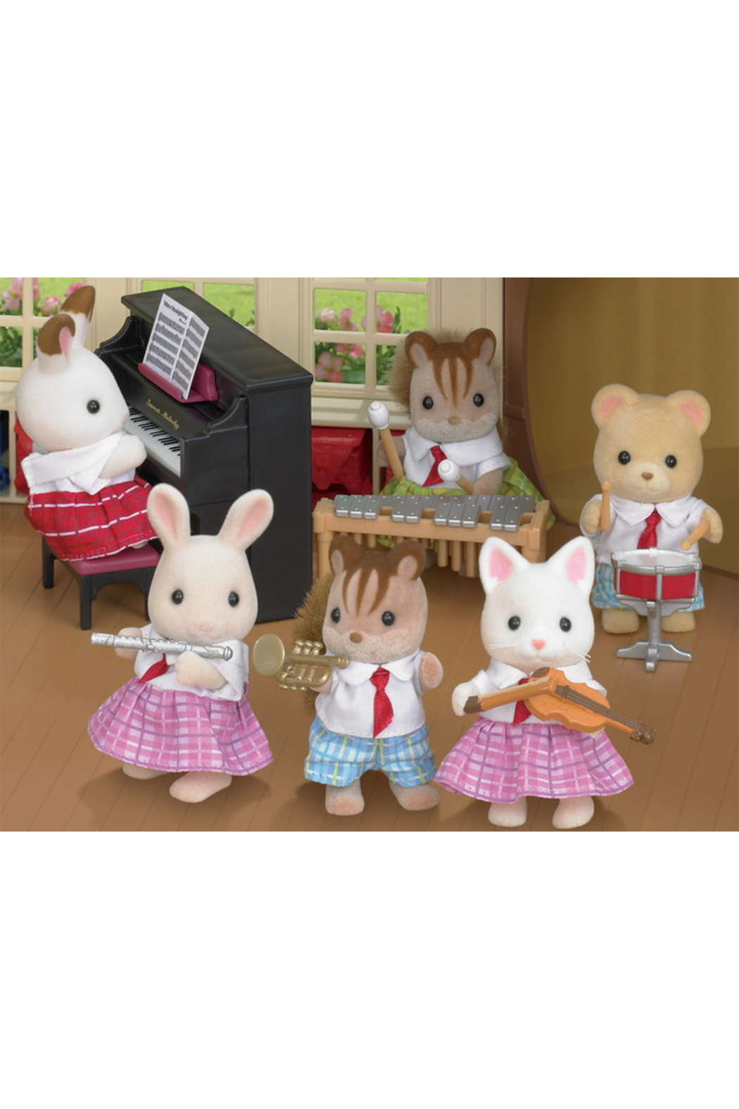 Calico Critters School Music Set - Front Full Image