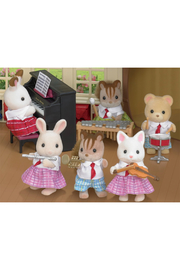 Calico Critters School Music Set - Front full body