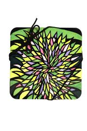 Schupak Art Works Coaster Set Forest - Front full body