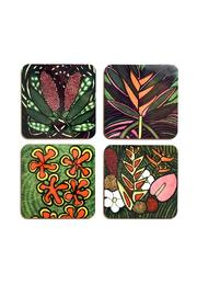 Shoptiques Product: Coaster Set Tropical - Front full body