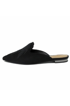 Schutz Black Embroidered Mule - Product List Image