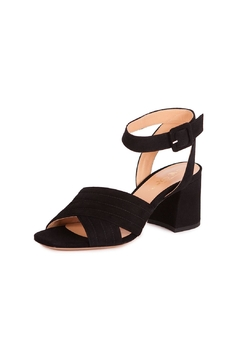 Shoptiques Product: Black Suede Sandals