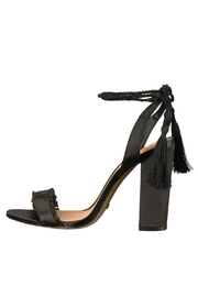 Schutz Black Tassel Heel - Product Mini Image