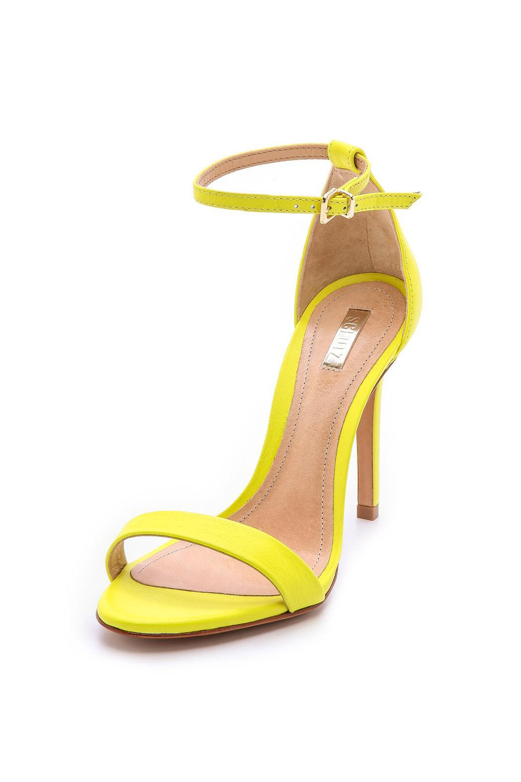 Cadey Lee Lime Heel