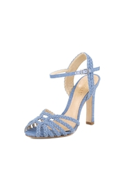 Schutz Leather Jeans Heels - Product Mini Image