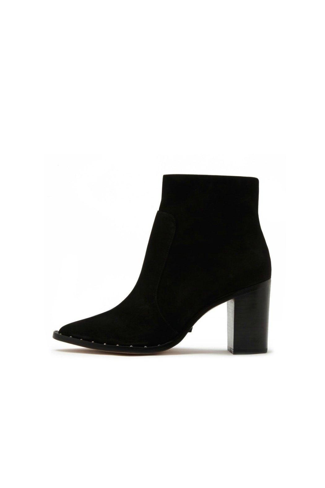 Schutz Pattys Studded Heeled-Boots - Front Cropped Image