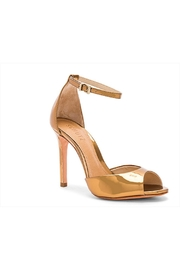 Schutz Saasha Lee Bronze Sandals - Other