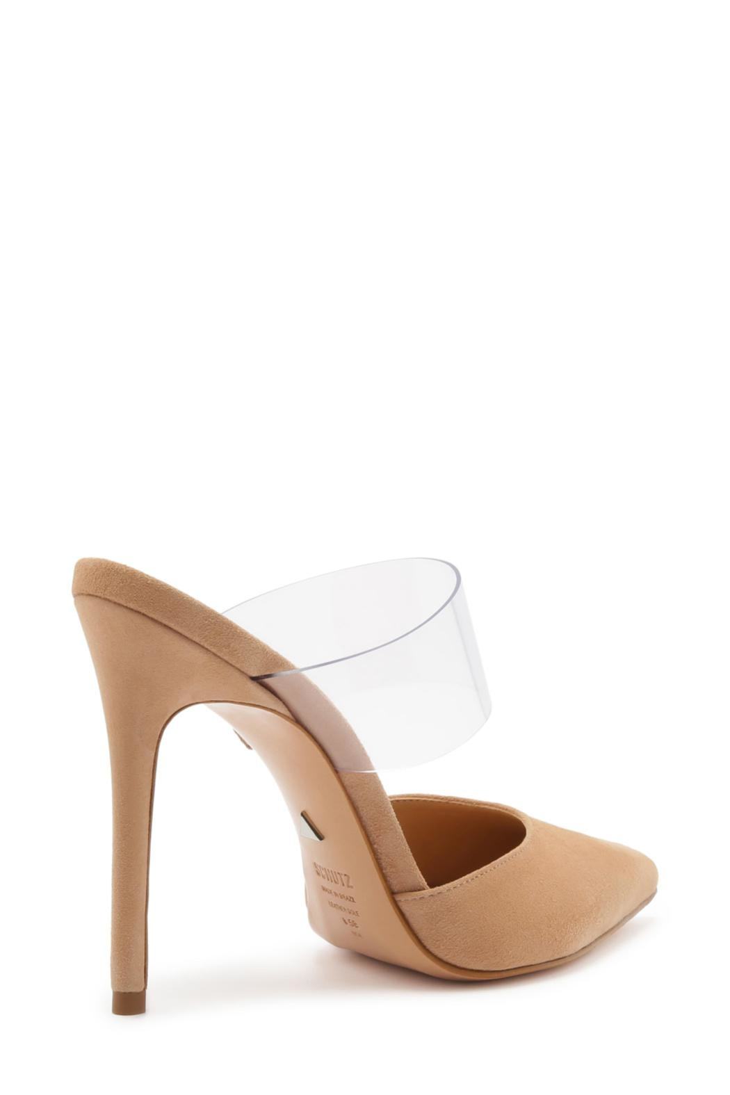 Schutz Sionne Suede Mule - Front Full Image