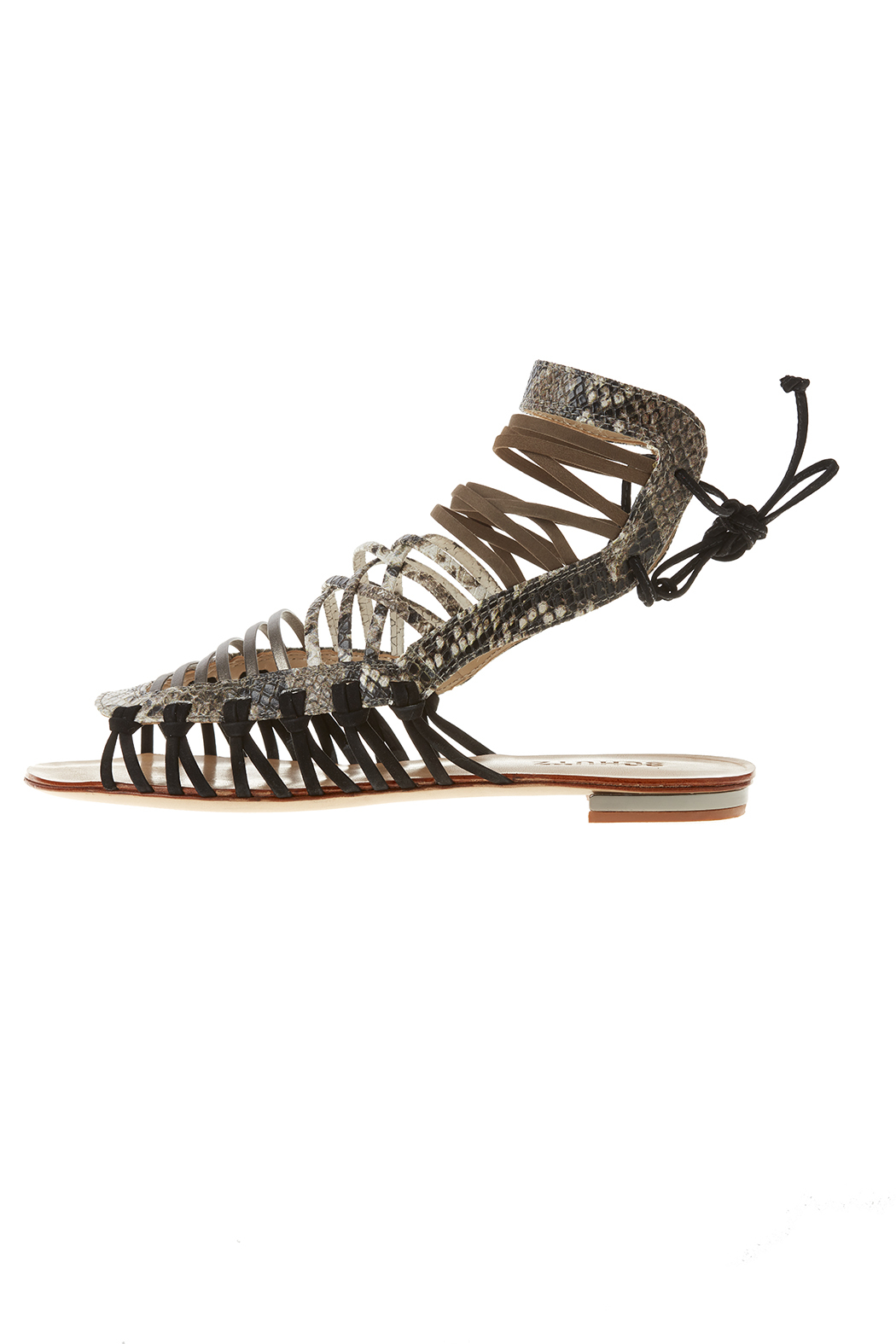 18dc1cd4a3e Schutz Strappy Gladiator Sandals from California by Bella At The ...