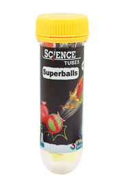 Wild Science Science Tubes: Superballs - Front cropped