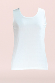 Clara Sunwoo Scoop Mid-Length Tank - Front cropped