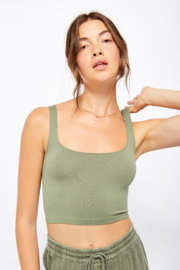 Free People  Scoop Neck Crop - Product Mini Image