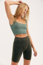 Free People Scoop Neck Crop - Front cropped