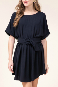 Entro  Belted Detail Dress - Product List Image