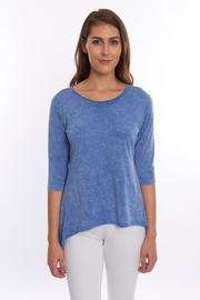 Magdalena Scoop-Neck High-Low Tunic - Product Mini Image