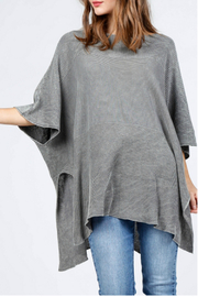 M. Rena Scoop neck sweater poncho - Product Mini Image