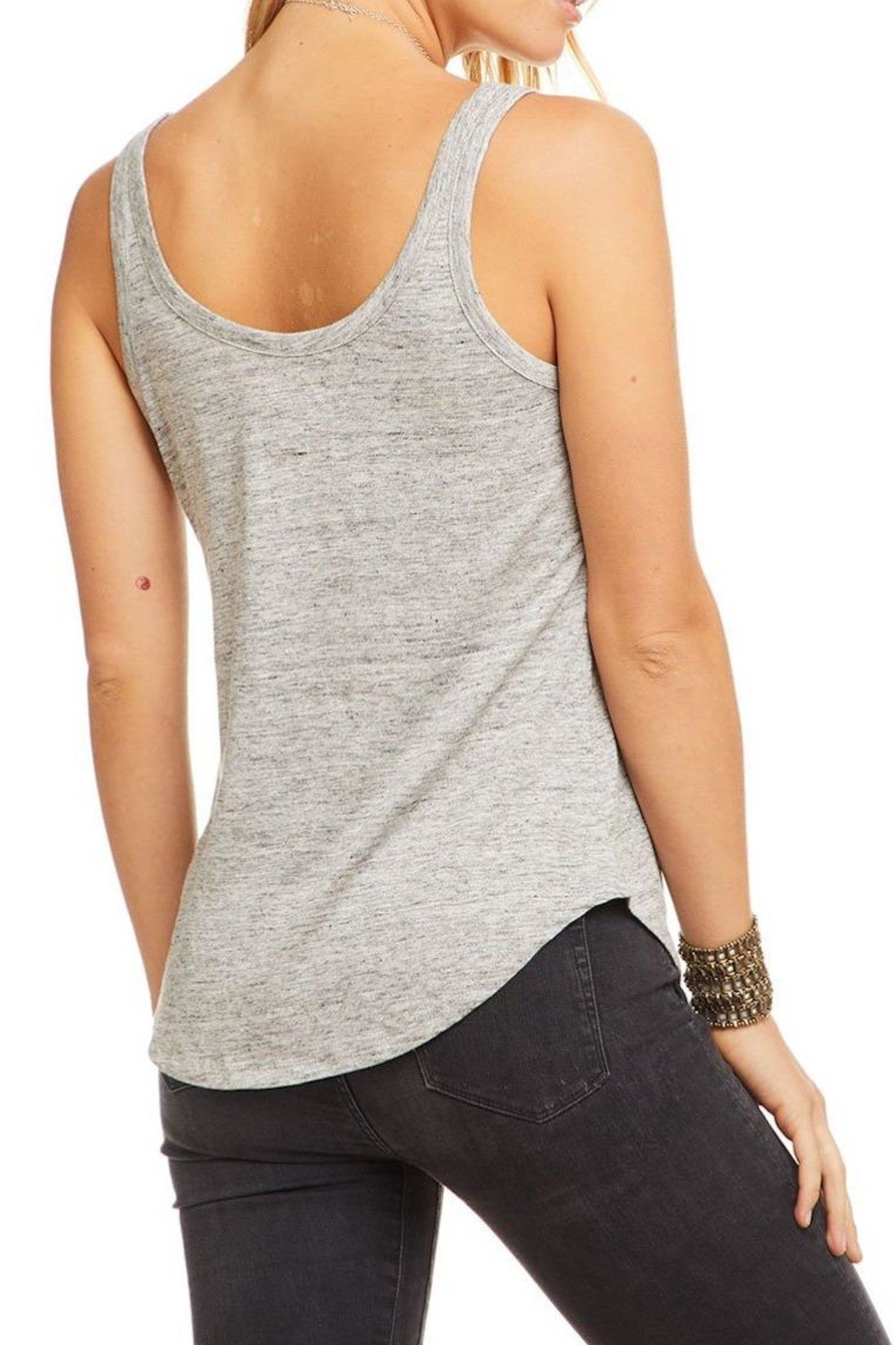 Chaser Scoop Neck Tank - Side Cropped Image