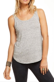 Chaser Scoop Neck Tank - Front cropped