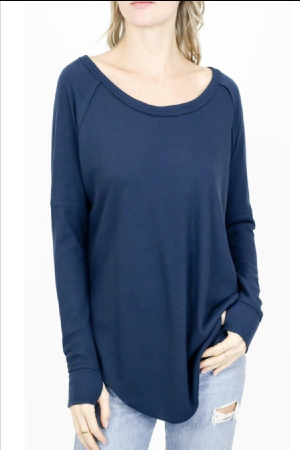 Six Fifty Scoop Neck Thermal - Main Image