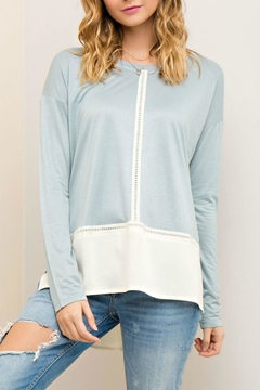 Entro Scoop Neck Top - Product List Image