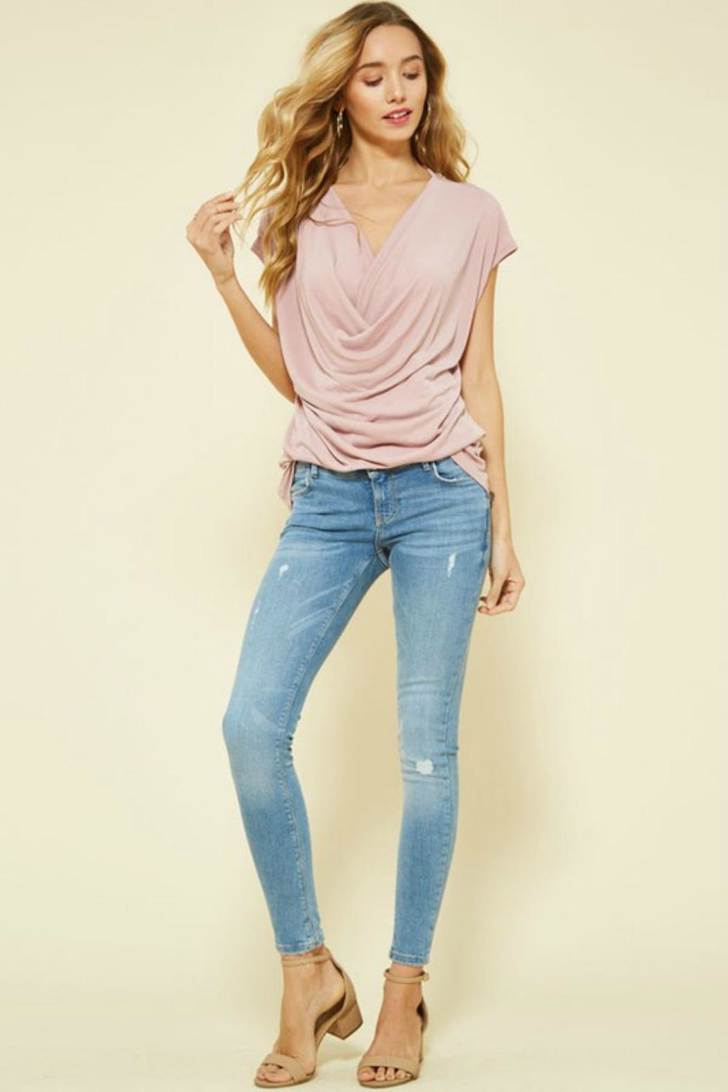 Promesa USA Scoop Neck Top - Main Image