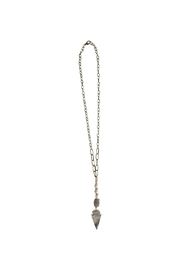 Scooples Smokin Arrow Necklace - Front cropped