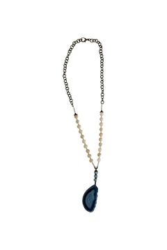 Shoptiques Product: Teal Agate Necklace