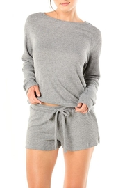 Cosabella Scoopneck Lounge Sweater - Product Mini Image