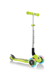 Globber Scooter Primo Foldable Lights - Front cropped