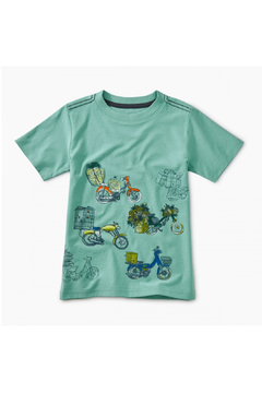 Tea Collection Scooter Traffic Graphic Tee - Product List Image