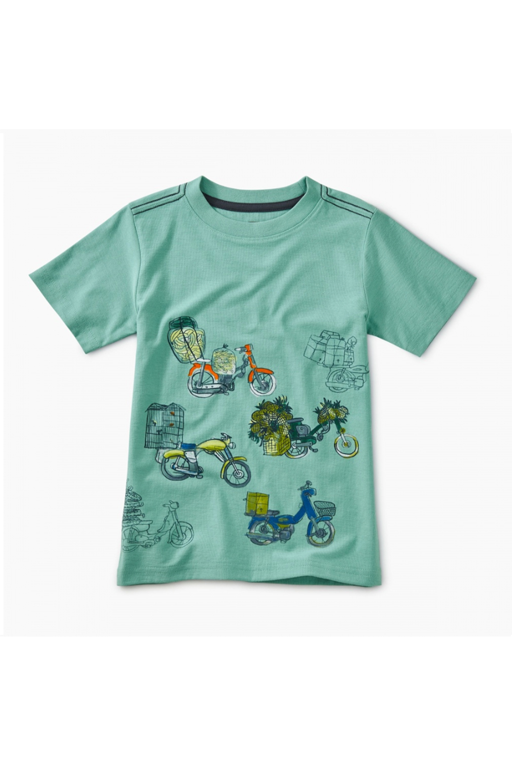 Tea Collection Scooter Traffic Graphic Tee - Main Image