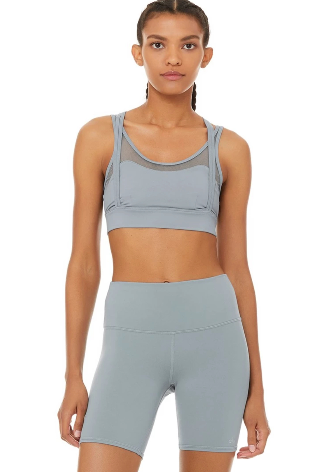 ALO Yoga Scope Bra - Front Cropped Image