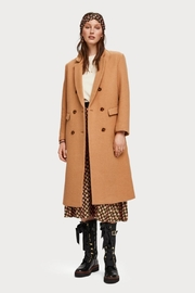 Scotch % Soda Long Wool Coat - Front cropped