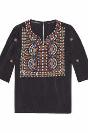 Scotch and Soda Boho Embroidered Top - Front full body