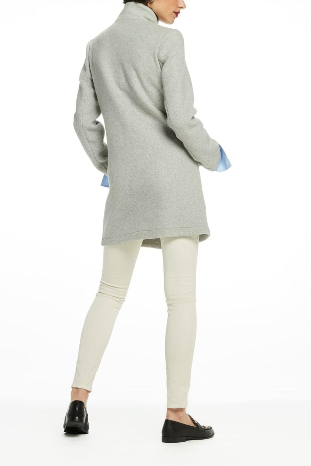 Scotch and Soda Bonded Wool Coat - Side Cropped Image