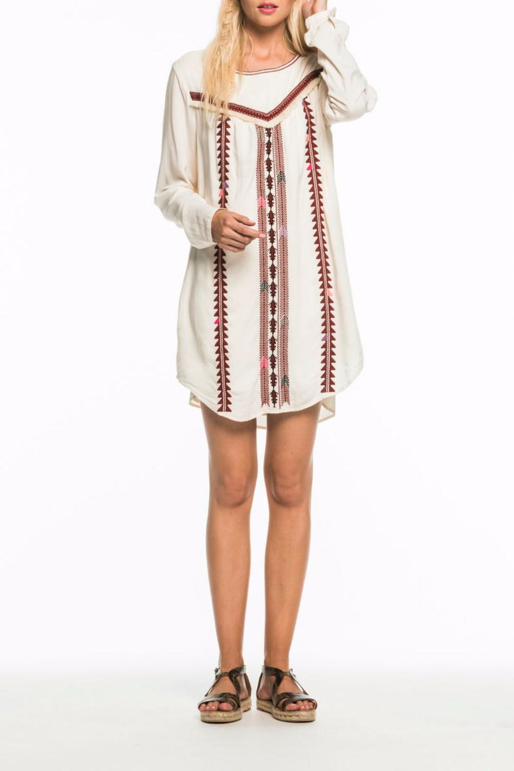 Scotch and Soda Embroidered Dress - Main Image