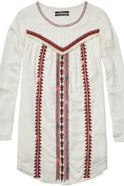 Scotch and Soda Embroidered Dress - Front full body